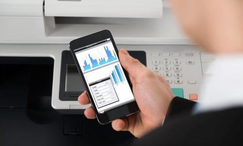 Collegare lo smartphone a una stampante USB