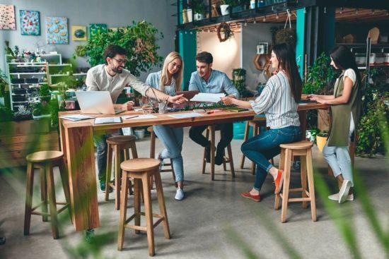 Miglior arredamento per l'ufficio benessere e produttività - smart working