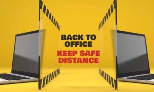 Barriere protettive per ufficio uno schermo anti Covid-19