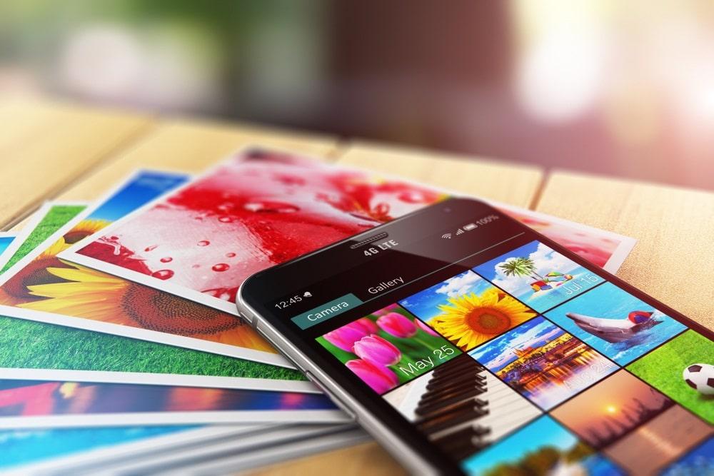 stampa di fotografie da smartphone o tablet di qualità